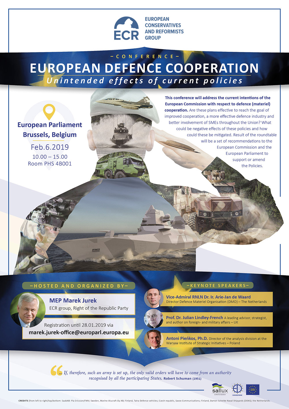 European Defence Cooperation Conference // ECR Group