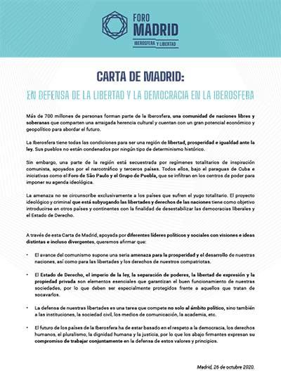 Carta de Madrid (SP)