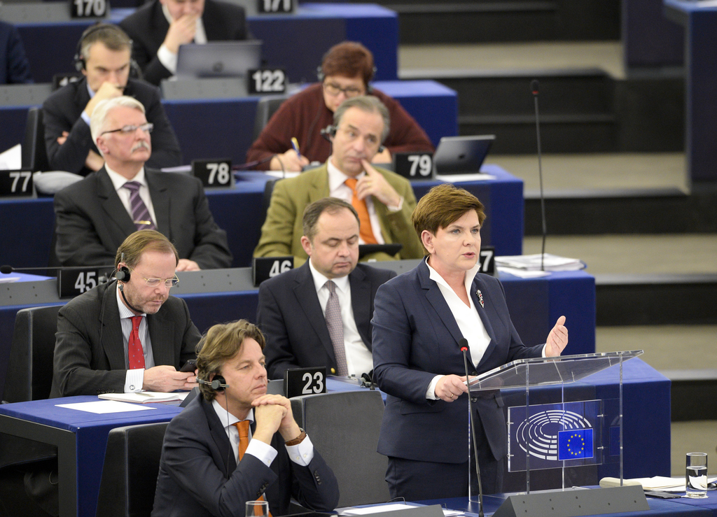 ECR Group to nominate Beata Szydlo to chair Parliament's Employment Committee