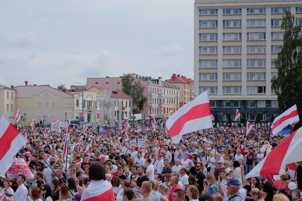 Democracy in Belarus must be restored