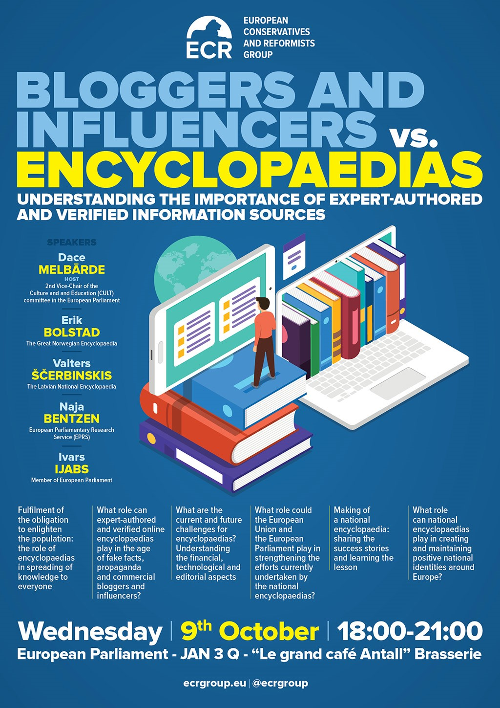 Bloggers and influencers vs. encyclopaedias