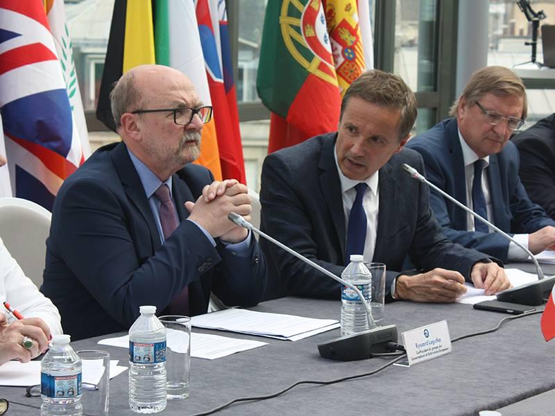 Le Groupe ECR et Debout la France associés pour les élections européennes de 2019