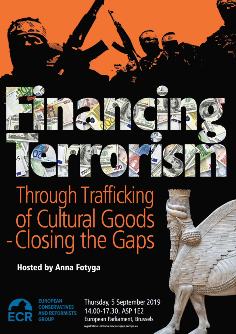 Financing Terrorism through trafficking of Cultural Goods – Closing the Gaps