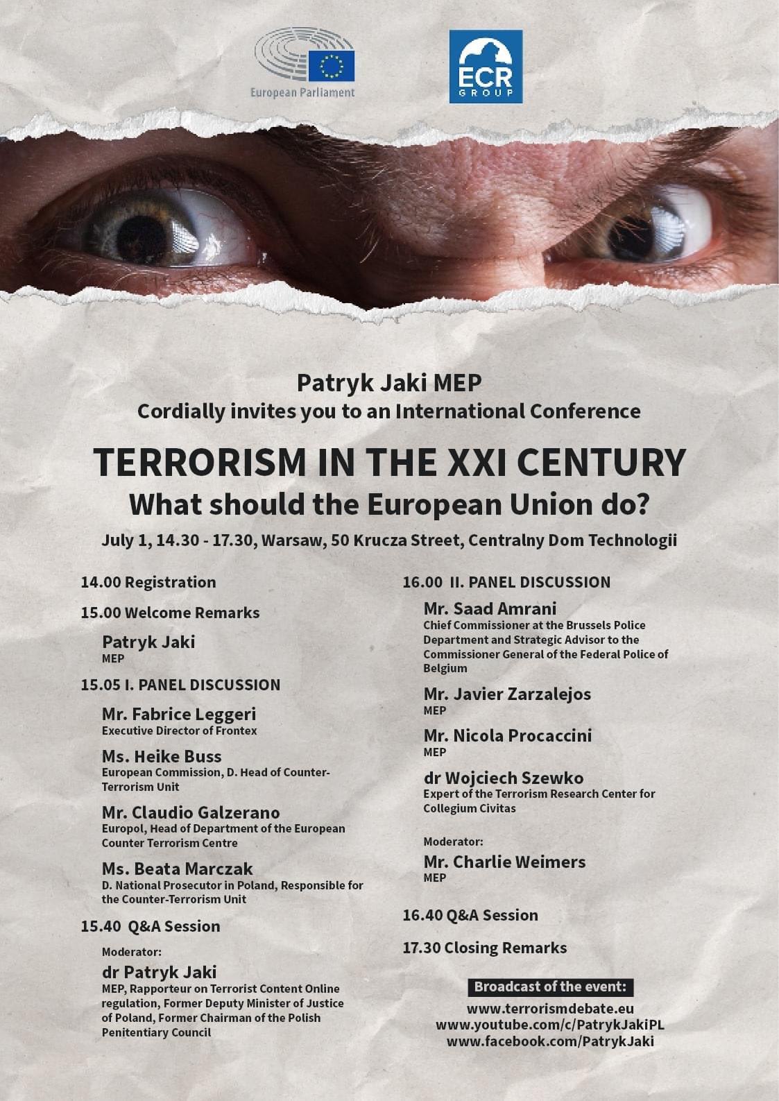 Terrorism in the XXI century - What should the EU do?