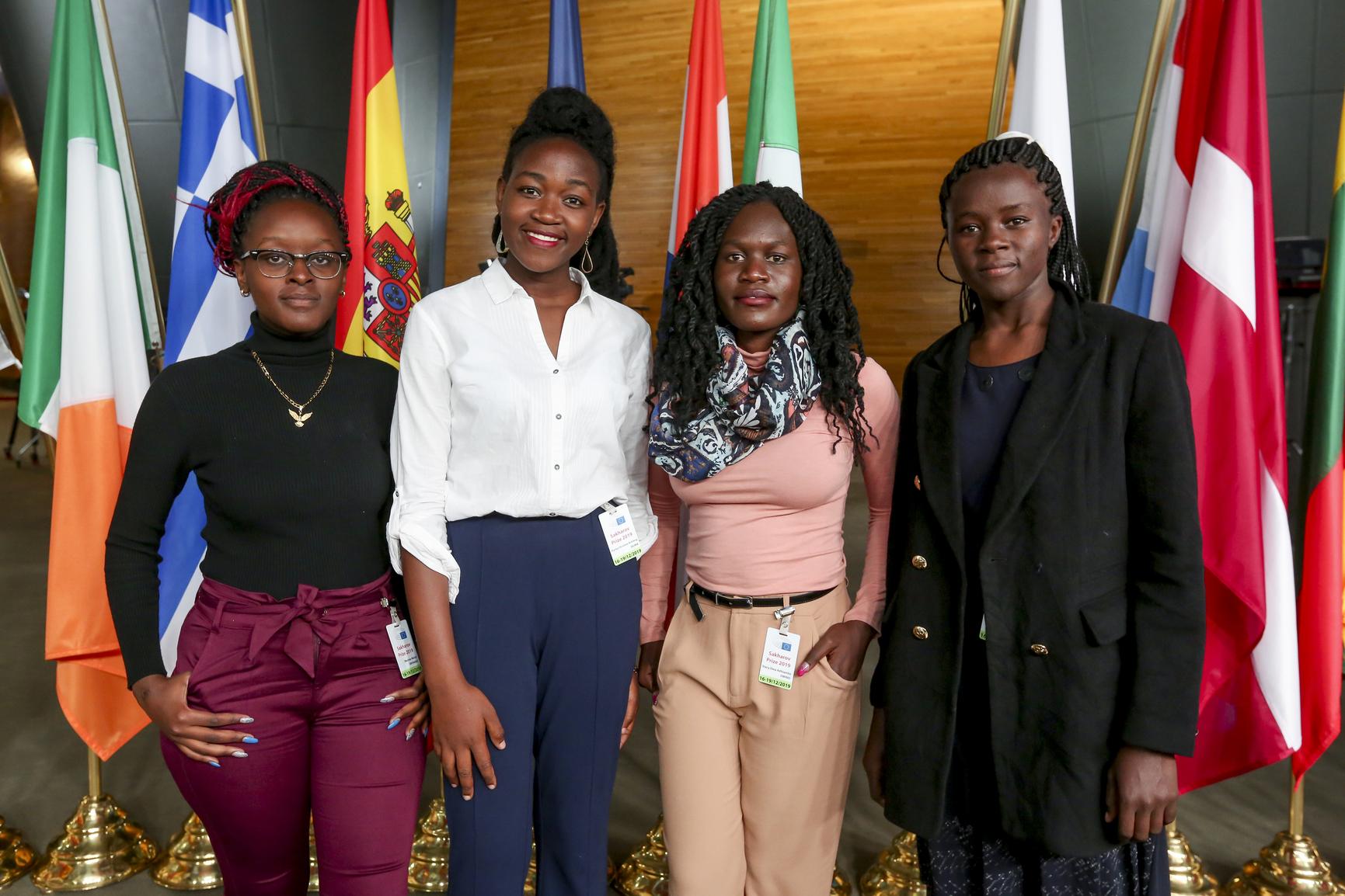 "Kenyan anti-FGM campaigners and innovators The ""Restorers"" visit Parliament"