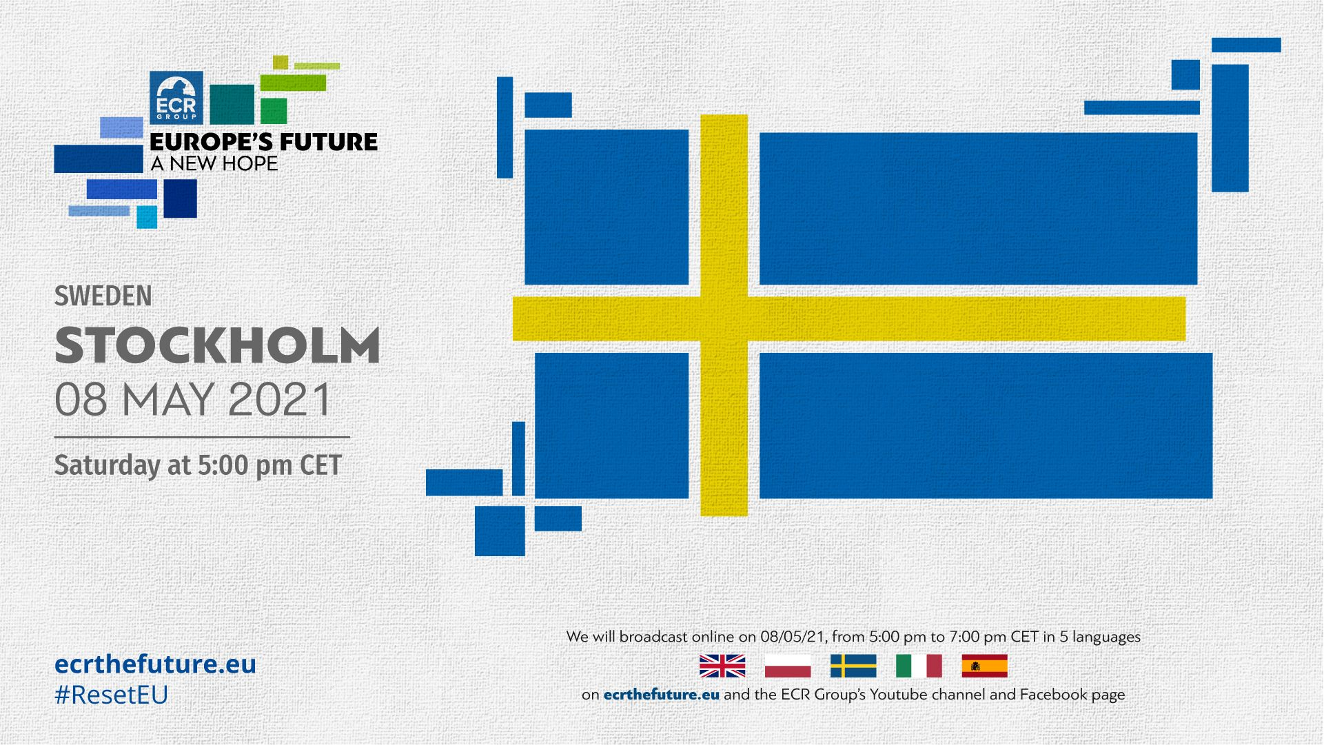 The ECR Group's Conference on the Future of Europe tour reaches Stockholm, Sweden