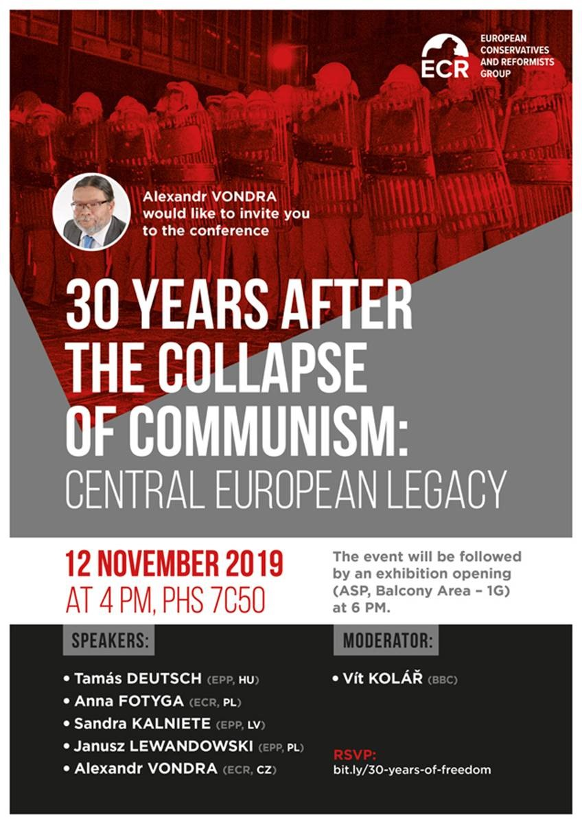 30 Years after the collapse of communism: Central European legacy