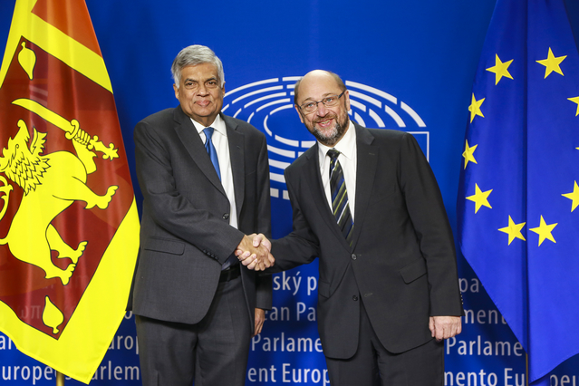 Strong welcome from European Parliamentarians to new President of Sri Lanka