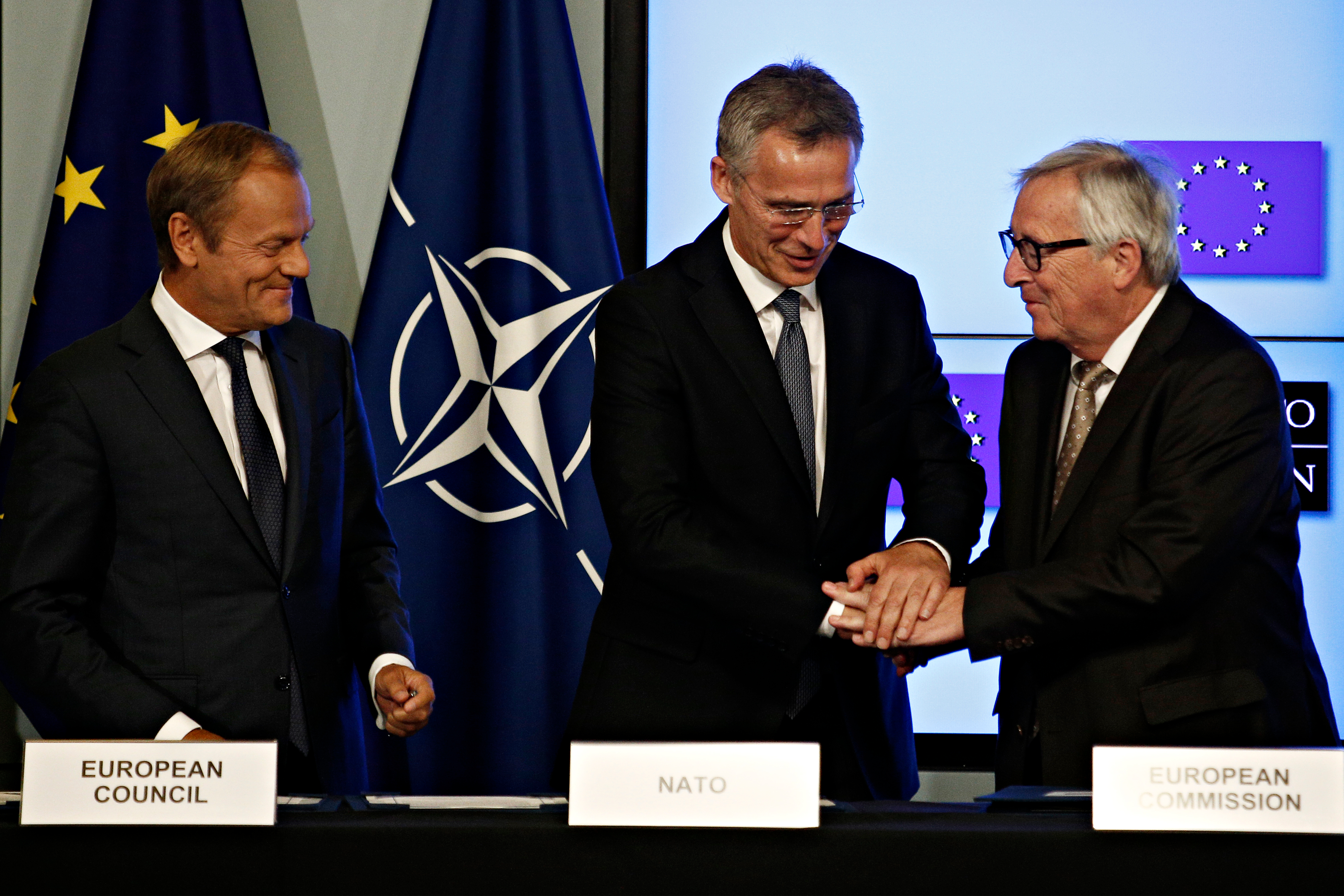 The EU and NATO must take pro-active steps to send Putin a message
