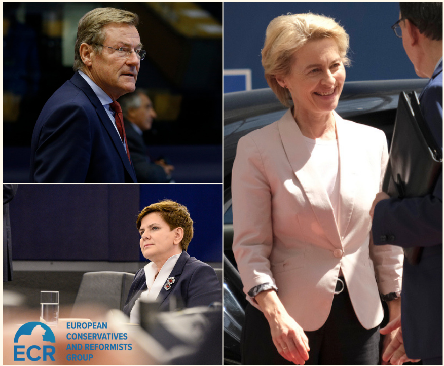 This Week: Von der Leyen to visit the ECR Group and chairs of Parliament's Committees elected